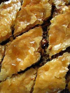 Recipe: Baklava Ingredients 2 t. ground cinnamon 1/2 t. (plus)...