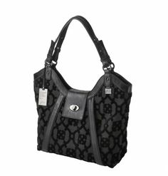 Hudson Hobo in Nightshade from Petunia - $356 http://handbags.petunia.com #handbags #fashion #style #hobobag