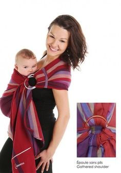 f136875dccb Chimparoo Ring Sling Baby Wrap One Size JULIET     Find out more about the