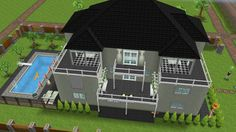 Sims freeplay, family house