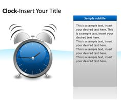 Free time management powerpoint template is another free clocks powerpoint templates is a free powerpoint template with clocks that you can download to make toneelgroepblik Images