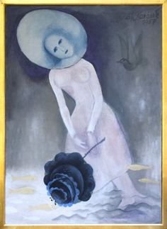 AUKCE OBRAZŮ U NÁRODNÍ GALERIE Cinderella, Disney Characters, Fictional Characters, Disney Princess, Painting, Art, Art Background, Painting Art, Kunst