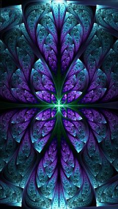 Do It Yourself Solar Electricity For Your House Fractal Artwork. Not Necessarily Symmetrical, Though This Piece Is. Fractal Images, Fractal Art, Psychedelic Art, Colorful Wallpaper, Wallpaper Backgrounds, Design Fractal, Kaleidoscope Art, Art Visionnaire, Illusion Art