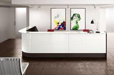 Adito Curved Reception Desks
