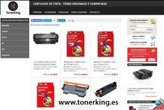 Tonerking ➡ https://tonerking.es/  tu tienda online de tintas y tóner donde podrás encontrar la más amplia variedad en cartuchos de tintas y tóner compatibles y originales. Nuestros cartuchos de tinta y tóner son 100% compatibles con su impresora, con los que obtendrás unos resultados excelentes. ☎ 622 793 911 #tintaimpresora #consumibles #cartuchos #HP #Canon #Epson #Brother #Oki #samsung