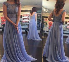 Off shoulder lavender chiffon prom dresses... Ded long prom gowns... Ior prom 2017 dresses Senior Prom Dresses, Prom Dresses 2017, Long Prom Gowns, Ball Gowns Prom, A Line Prom Dresses, Long Dresses, Wedding Gowns, Beaded Dresses, Prom Long