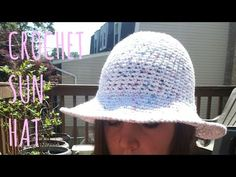 Tutorial: How to add wire to the brim of a summer hat! - YouTube