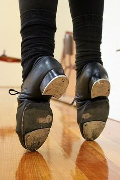 A beautiful pair of tap shoes, loaded with stories of love, sweat, and tears