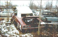 1 of 1 1970 HEMI 4spd Coronet R/T convertible found in junkyard late 70's. #barnfinds