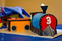 Train cake #birthday #party