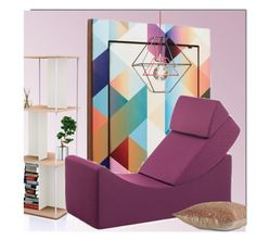 """""""Place To Read"""" by monmondefou ❤ liked on Polyvore featuring interior, interiors, interior design, home, home decor, interior decorating, B-Line, Lina, Home and homedecor"""