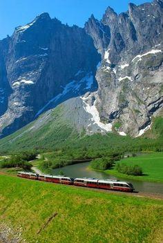 Norway Boasts Spectacular Scenery