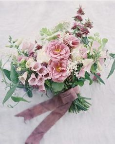 gorgeous bridal bouquet with foxgloves by @BLOOMWELL.CO