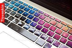 Macbook Keyboard Decal/Macbook Pro Keyboard by Tloveskin on Etsy, $13.99