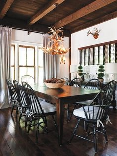 Black Windsor Dining Chairs - Foter