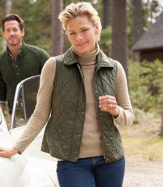 SAVE KHAKI SK847 REVERSIBLE QUILTED VEST | Save Khaki | Pinterest : quilted riding vest - Adamdwight.com