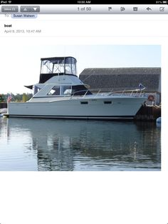 the Original Six 1969 35' Chris Craft Commander Sport Cruiser
