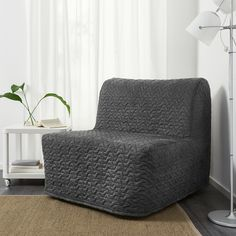 NEW in box Ikea covers for Lycksele Chair-Bed in Vallarum Grey Chair Bed Ikea, Chaise Ikea, Bedroom Chair, Mattress Covers, Bed Covers, Mousse Polyuréthane, Bed Cleaner, Ikea Bed, Ikea Duvet