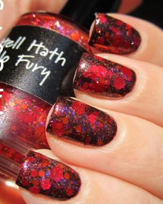 Hell Hath no Fury swatched by Spit & Polish