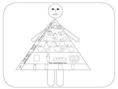 Piramida alimentară. Planșe + fișe de lucru. Playing Cards, Education, Blog, Playing Card Games, Blogging, Onderwijs, Learning, Game Cards, Playing Card