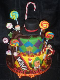 Willy Wonka cake :)