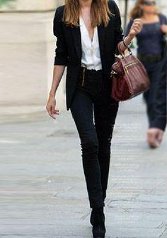 black skinny jeans forever