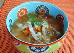 Lithuanian Cabbage Soup.