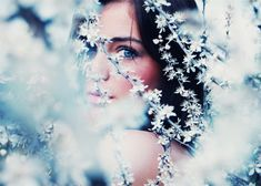 blue, eye, focus, girl, photography