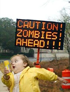 Zombies: the perfect motivation to run like a maniac.  Zombies, Run! app