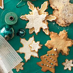 Eight Unique and Classic Sugar Cookie Recipes and Holiday Kitchen Memories