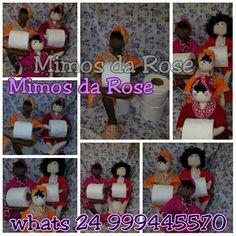 Boneca porta papel higienico visite no pagina no face Mimos da rose