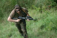 Airsoft games with GoBananas - http://www.gobananas.com/ideas/airsoft-in-england.html