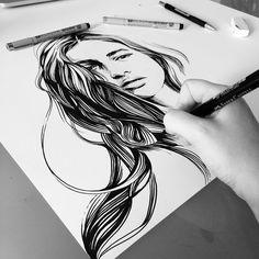 https://www.behance.net/gallery/25534701/Ink-Pencil