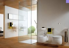 The bathrooms have been designed as a place without dark corners that perform a function, now Alternative Plans have presented their new range, a different concept luminous bathrooms that are bright and cheerful and with infinite space ,with an important touch of main character within the home, where one now wishes to spend more time.