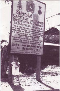 Touriste, arrête-toi et souviens-toi... Saint-Lô, la Capitale des Ruines.  http://shanaghy.jimdo.com http://www.facebook.com/ShanaghySaintLo
