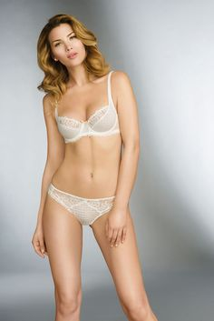 Romanian model Gabriela Iliescu for Lise Charmel 2015