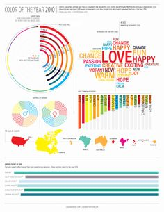 Color Graphics / Colourlovers #infographics #graphics #charts