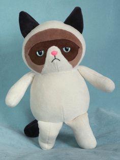 Grumpy Cat Doll... @Rose De Leon-Nogueras :D