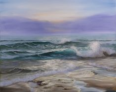 "So happy: ""In The First Light"" just #sold on EvaVolfSeascapes.etsy.com to a new home in Maryland. #artforsalebyartist #interiors #interior123 #livewithart #artforsale #beoriginal #freedomesticshipping"
