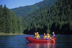 Guided Float Trip on the Middle Fork of the Clearwater River.  Fishing the Clearwater & Selway Rivers - doesn't get any better! #IdahoFishing http://www.riverdancelodge.com/activities/fly-fishing