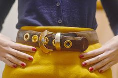 Doce para o meu Doce: Meeting Outfit at School  #vintage belt