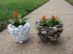 adornos de jardines con macetas - Buscar con Google