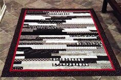 Black & White Jelly Roll - Quilters Club of America