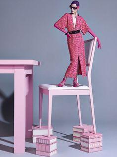 VOGUE Brazil, February 2014 Photographer: Zee Nunes Model: Zuzanna Bijoch Fashion Editor: Pedro Sales