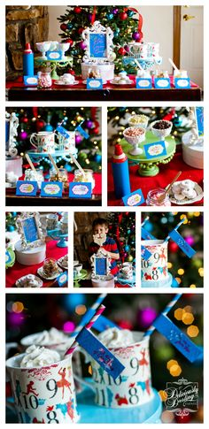 Deliciously Darling Events | Holiday Hot Cocoa Bar (for adults)