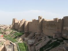 Ancient citadel in Herat, Afghanistan. Herat was an important crossroads on the Silk Road, the trade route that moved luxury goods between the Levant and India and China. Excavations have discovered evidence of habitation on the site dating back to the sixth century B.C. Alexander the Great himself occupied the area in 330 B.C. and is thought to have built the first fortress on the site.
