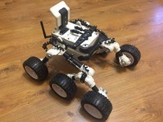 3D Printed RC Rover Inspired by the Martian Rover