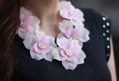 Joyas-Bisutería Rosa suave/Rosa palo  collar verano rosa palo necklace teria yabar  Teria Yabar , Primavera-Veranoo 2013. En el armario de andtrendydreams desde el 2-8-2013