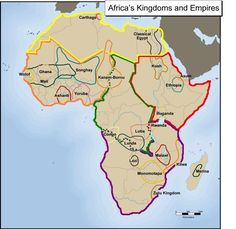 Precolonial Africa's kingdoms by region. Please note the first country mentioned in the bible can be found in genesis 2:13. Where it says 'The name of the second river is the Gihon; it winds through the entire land of Kush/Ethiopia'