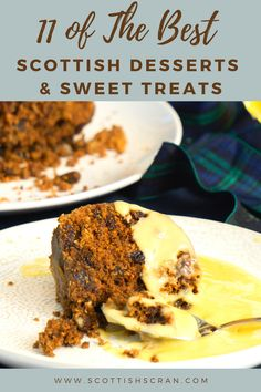 Scotland is home to some amazing traditional desserts, sweet treats and puddings. We decided to pull together some of our favourites! Greek Recipes, Italian Recipes, Yummy Recipes, Dessert Recipes, Yummy Food, Burns Night Recipes, Scottish Desserts, Food Collage, Polish Desserts